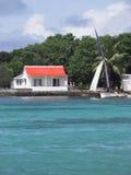 热带的房子 免版税图库摄影