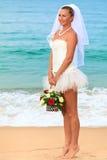 热带的新娘 库存照片