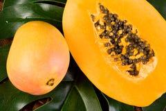 热带的新鲜水果 库存照片