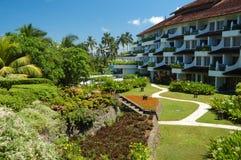 热带的旅馆 库存图片