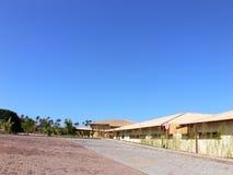 热带的旅馆 免版税图库摄影