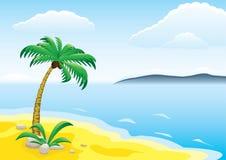 热带的日 向量例证