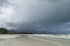 热带的暴雨 图库摄影