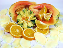 热带的果子 免版税库存图片