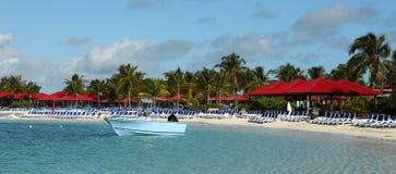 热带的海岛度假村 库存图片