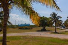 热带的海岛 行程 巴拉德罗角 免版税图库摄影
