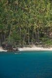 热带的海岛 库存图片