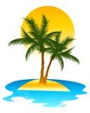 热带的海岛 免版税图库摄影