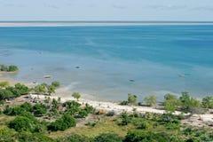 热带的海岸 免版税库存照片