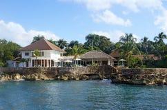 热带的海岸 库存照片