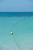 热带的海景 库存图片