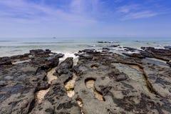 热带的海景 库存照片