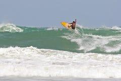 热带的海浪 库存照片