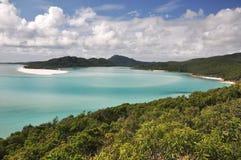 热带的海湾 库存照片