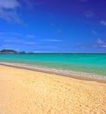 热带的海滩 免版税库存图片