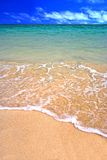 热带的海滩 免版税图库摄影