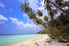 热带的海滩 泰国,酸值苏梅岛海岛 库存图片