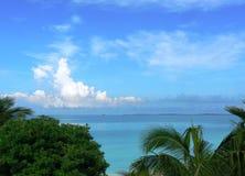 热带的海洋 免版税库存照片