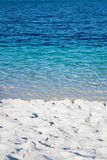 热带的湖 图库摄影