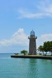 热带的灯塔 免版税库存照片