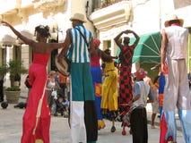热带的狂欢节 库存图片