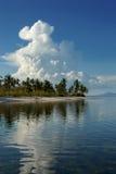 热带的积雨云 库存图片