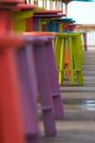 热带的高凳 库存图片