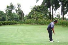 热带的高尔夫球 库存照片