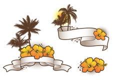热带的elements2 免版税库存照片