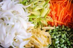 热带蔬菜 图库摄影