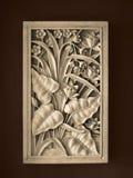 热带装饰的框架 库存照片