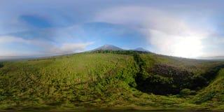 热带风景雨林和山vr360 影视素材