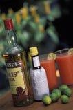 热带饮料,特立尼达和多巴哥 库存图片