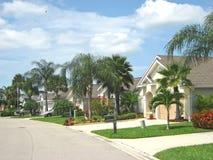 热带4个美国人的街道 免版税库存照片
