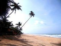 热带paadise海视图 免版税库存图片