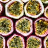 热带passionfruit 库存照片