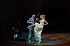 热情的舞蹈 图库摄影