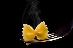 热意大利面食 免版税库存照片