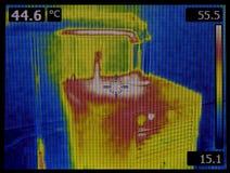 热扩散上升暖流图象 库存图片
