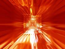 热抽象背景的火 向量例证