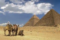 热撒哈拉大沙漠 免版税图库摄影