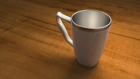 热杯子 库存照片