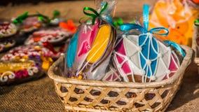 热气球的节日 免版税图库摄影