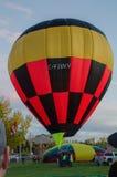 热气球的节日 库存照片
