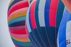 热气球的节日 免版税库存照片