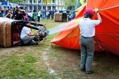 热气球的装载 库存图片