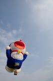 热气球的doraemon 库存图片