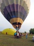 热气球,立陶宛 库存图片