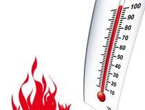 热温暖 库存照片