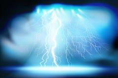 热照明设备 电子的放电 也corel凹道例证向量 向量例证